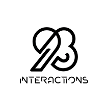 logotipo da 93Interactions
