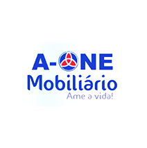 logotipo da A-ONE Mobiliário