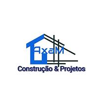 logotipo da Axam Projectos & Construções