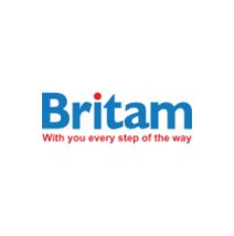 logotipo da BRITAM - Companhia de Seguros de Moçambique