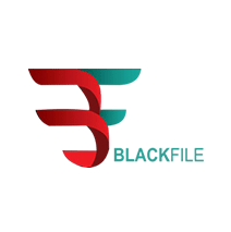 logotipo da Black File - Auditores & consultores