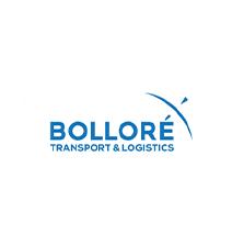 logotipo da Bolloré Transport & Logistics Moçambique