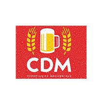 logotipo da CDM - Cervejas de Moçambique