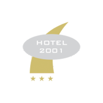 logotipo da Hotel 2001