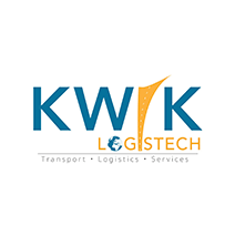 logo for Kwik Logistech - Transporte & Correio