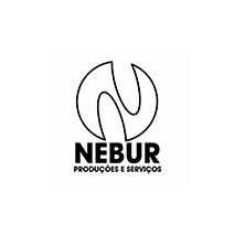 logotipo da Nebur Produções