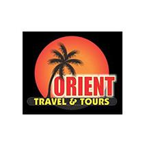 logotipo da Orient travel & tours