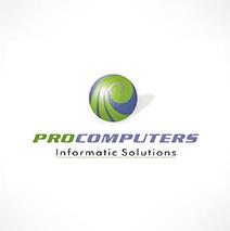 logotipo da Procomputers Moçambique