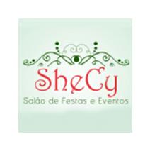 logotipo da SheCy – Salão de Festas e Eventos