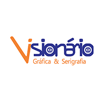 logotipo da Visionário Gráfica & Serigrafia