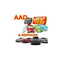 logotipo da Aad Rent a Car and Service