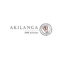 logotipo da Akilanga DMC Envents