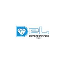 logotipo da DEL - Diamond Express Logistics