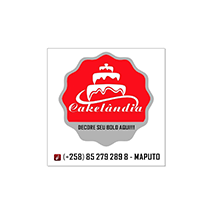 logotipo da Cakelândia