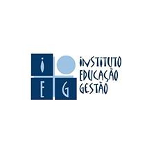 logotipo da IEG - Instituto de Educação e Gestão