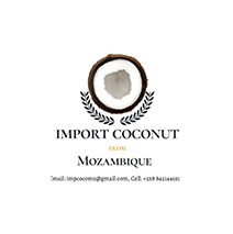 logotipo da Import Coconut from Mozambique