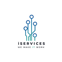 logotipo da iServices