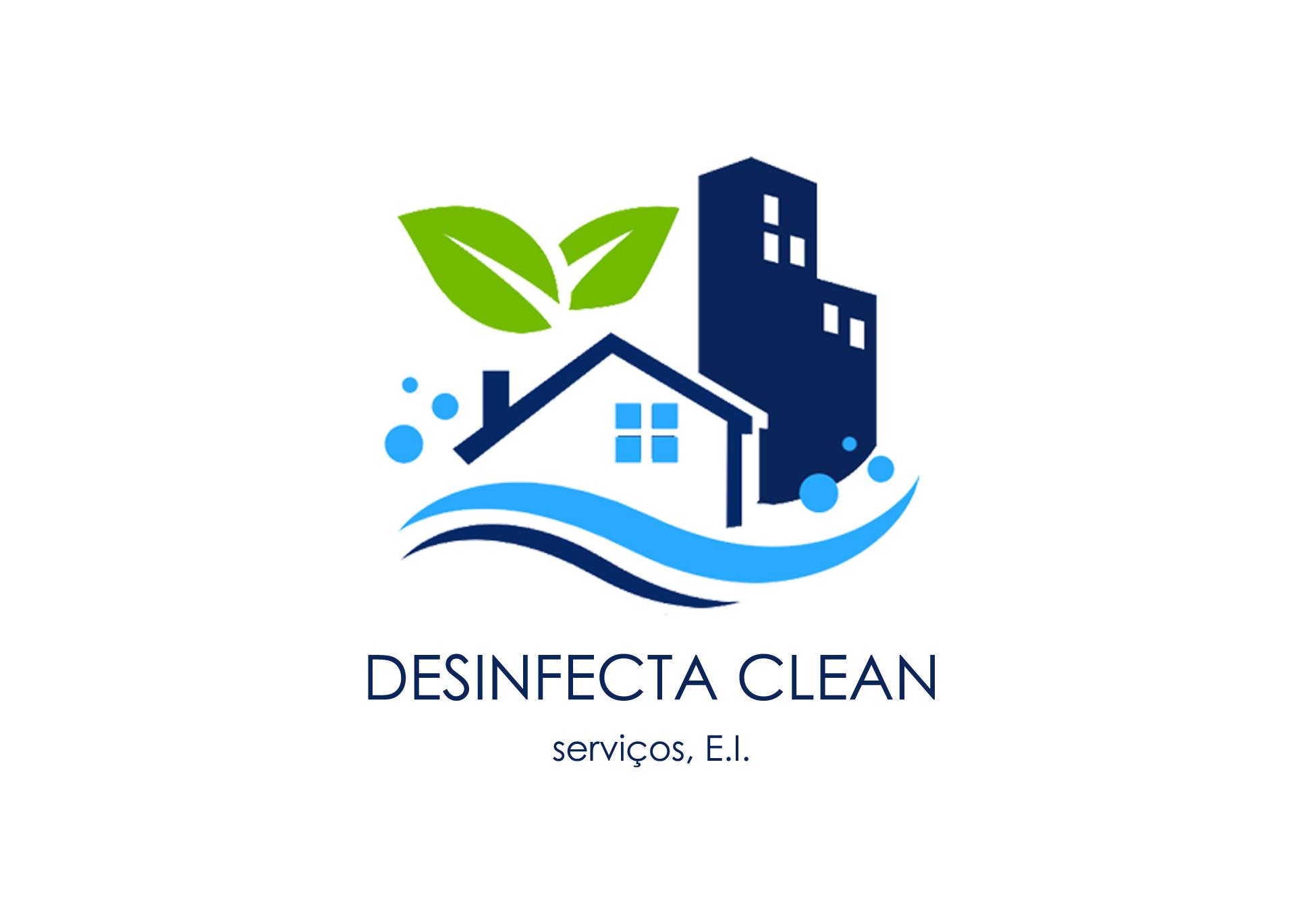 logotipo da Desinfecta clean e servicos e.i.
