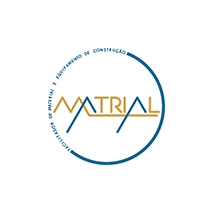 logotipo da Matrial
