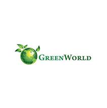logotipo da Green World Mozambique
