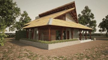"""Projecto Para Construção de uma """"casa de repouso"""" SC"""